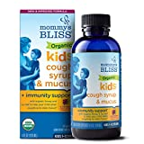 Mommy's Bliss Organic Kids Cough Syrup + Immunity Support - 4 fl oz