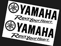 YAMAHA RevsYourHeart TypeA 17cm×2枚 ステッカー ヤマハ ファクトリー レーシング バイク 2輪