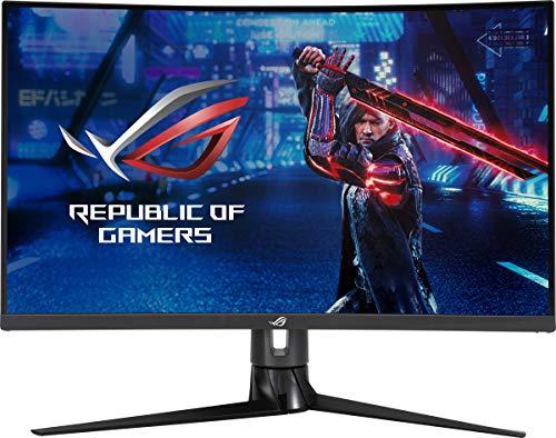 Asus XG32VC - Monitor Curvo Gaming ROG Strix de 31.5' WQHD (2560x1440, 170 Hz, 1 ms MPRT, ELMBS, FreeSync Premium Pro, DisplayHDR 400, USB de tipo C) Negro