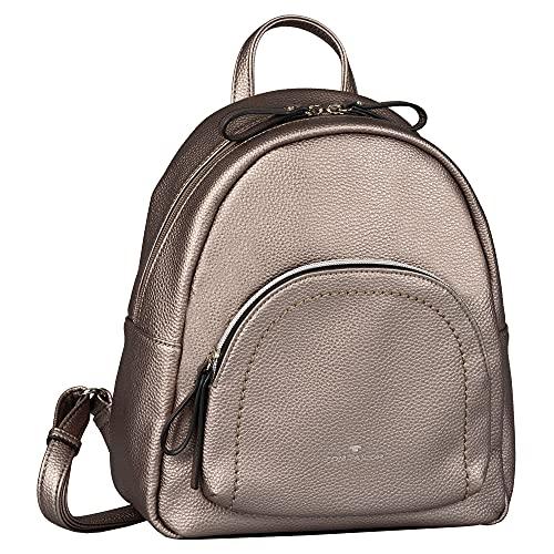 TOM TAILOR bags TINNA Damen Rucksack M, old silver, 25x12x27,5