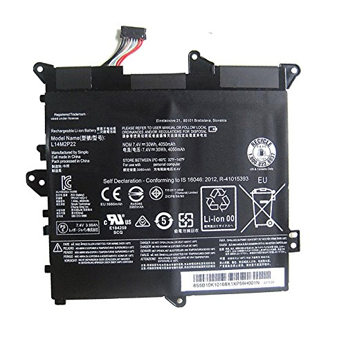 Dentsing L14M2P22 Laptop Battery for Lenovo Flex 3-1120 Flex 3-1130 80LX001FUS L14M2P22