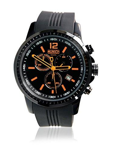 Munich Reloj Analógico para Unisex Adultos de Cuarzo con Correa en Silicona MU+102.5A