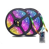 Barra Ligera del LED, 5050 Color RGB Que Cambia de Barra de Luces 10M, 300LEDs con 44 Teclas de Control Remoto de luz, usada for la decoración casera, Fiesta de la Boda