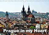 Prague in my heart (Wall Calendar 2022 DIN A4 Landscape): Walking around beautiful Prague (Monthly calendar, 14 pages )