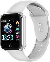Reloj Inteligente, 1.4 Inch Smartwatch with Monitoreo de presión Arterial, Pulsómetro Impermeable IP68 Pulsera Actividad con Inteligente de Podómetro y Monitoreo del Sueño para Android y iOS