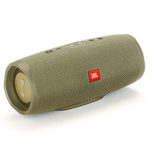 JBL Charge 4 Waterproof Portable Bluetooth Speaker- Sand