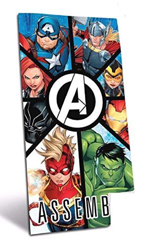 Toalla Playa Avengers Assemble 70x140 cm Algodón