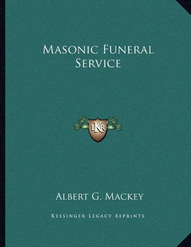 Download Masonic Funeral Service 116304122X