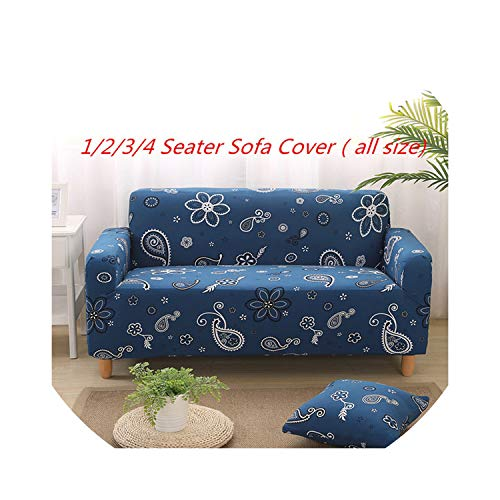 Little-Goldfish Slipcover Butterfly Pattern Print Stretch al Armchair Seat Cover Sofa Covers Polyester Fabric Soft Slipcovers Couch Cover,Light Grey,Three Seater
