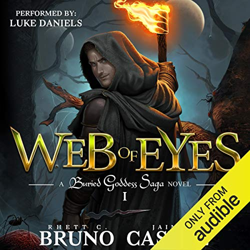 Web of Eyes audiobook cover art