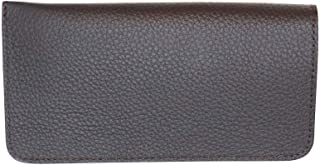 Made in the USA - Genuine Leather Eyeglass Case Soft – Padded Suede Interior