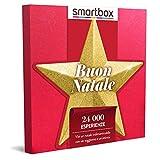 Smartbox - Buon Natale - Cofanetto Regalo per Uomo o Donna, Magici Soggiorni o Gustose Cene o 1 Trattamento Benessere o 1 Attività Sportiva per 1 o 2 Persone, Idee Regalo Originale