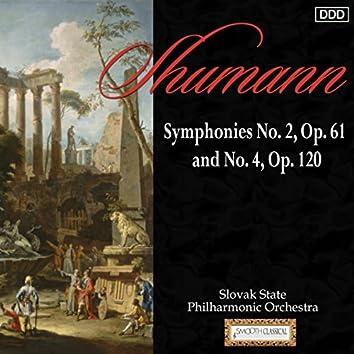 Schumann: Symphonies No. 2, Op. 61 and No. 4, Op. 120
