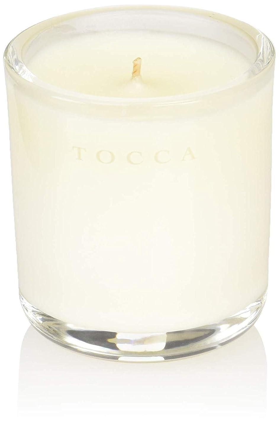 不潔リマ破滅的なTOCCA(トッカ) ボヤージュ キャンデリーナ カプリ 85g (ろうそく 芳香 柑橘とメロンの魅惑なシトラスな香り)