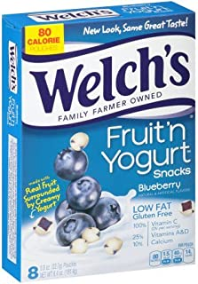 Welch's Blueberry Fruit 'n Yogurt Snacks 6.4oz, one box
