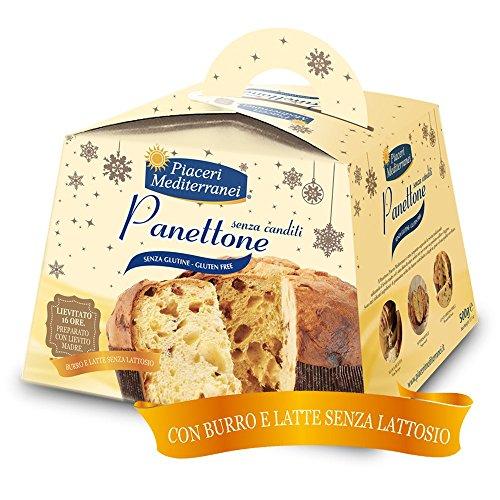 Piaceri Mediterranei Panettone Senza Glutine 500 g SCADENZA 02 2018