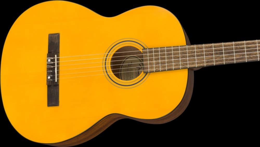 Guitarra clásica Fender Educational Series – Vintage Natural ...