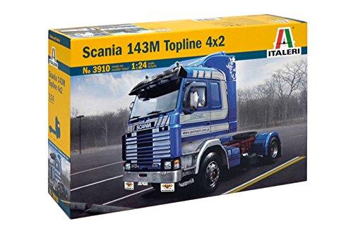 Italeri 3910 - 1:24 Scania Topline 4x2, 143 m, Fahrzeuge