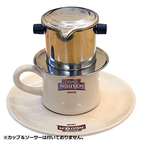 『TrungNguyen(チュングエン)ステンレスフィルター〈ベトナムコーヒー専用フィルター※レギュラーコーヒー〉』の4枚目の画像