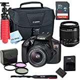 Canon T6 Digital SLR Camera Kit with EF-S 18-55mm Lens (Black) with...