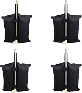 YELAIYEHAO 4 PCS Weights Bag for Pop up Canopy Tent Weighted Feet Bag Sand Bag with 1 Gardening Shovel (4pcs)