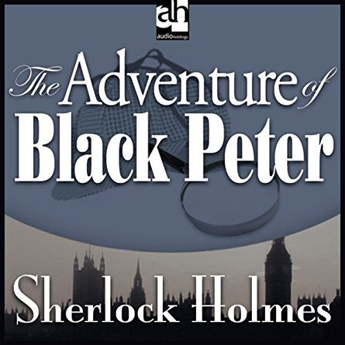 The Adventure of Black Peter copertina