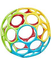 Bright Starts 10340 Oball Classic Flexibel leksak för barn i alla åldrar, Flerfärgad
