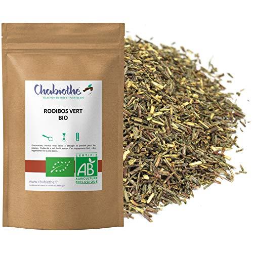 BIO Grüner Rooibos Losen Tee 200g - ohne Tee und nicht fermentiert