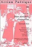 Action poétique, numéro 166 - Poètes autrichiens d'aujourd'hui