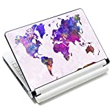 Laptop Stickers 15.6 inch Decal Skin Sticker Vinyl Removal Cute Funny Notebook Cover Art Fits 13.3' 14' 15.4' 15.6' HP Dell Lenovo Apple Mac Asus Acer (map 2)