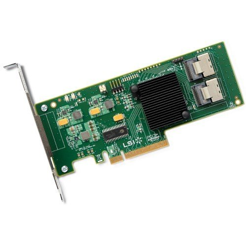 Price comparison product image Avago 8-Port Int,  6Gb / s SATA + SAS,  PCIe 2.0 HBA,  LSI00194 (+ SAS