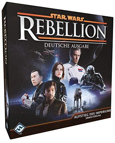 Asmodee Fantasy Flight Games FFGD3006 Star Wars: Rebellion - Aufstieg des Imperiums - Erweiterung, Experten-Spiel, Deutsch