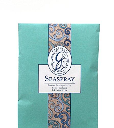 Unbekannt Greenleaf - Duft-Sachet Duftsäckchen Dufttüte Duftgranulat Duftbeutel Seaspray