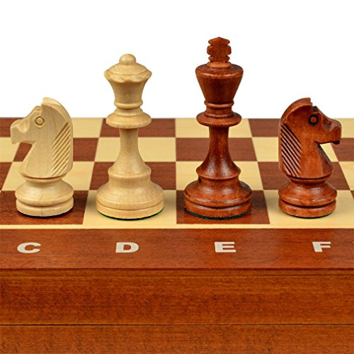 Wegiel 木製チェスセット トーナメント No.4 41cm [並行輸入品]