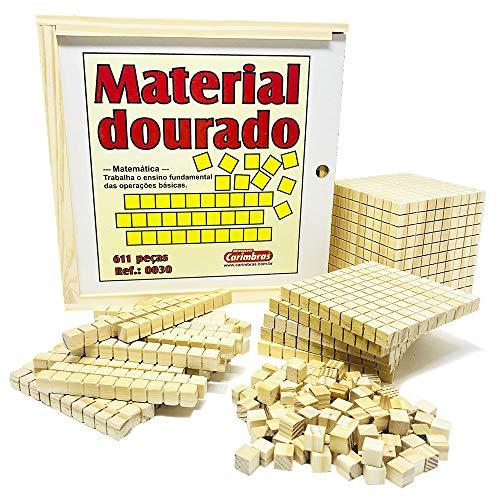 Material Dourado 611 Peças - Carimbrás
