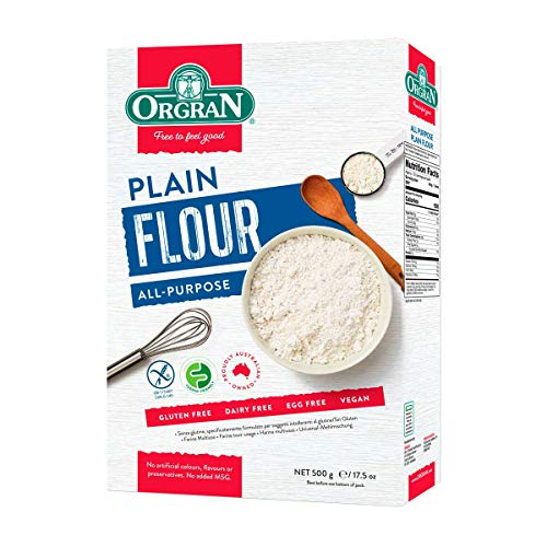 Orgran, Measure for Measure All Purpose Flour, Certified Gluten-Free, Vegan, Non-GMO, Certified Kosher, 1.1 lbs