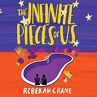 The Infinite Pieces of Us audiobook cover art