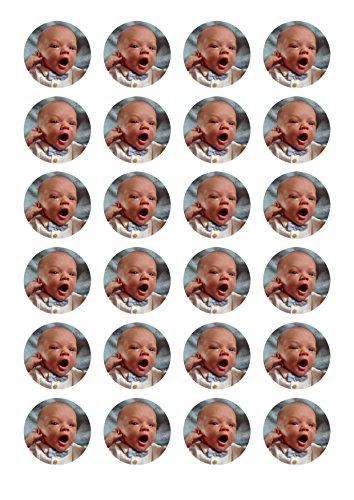 Muffin / Cupcake Aufleger - Essbares Tortenbild nach Wunsch individuell gestaltet Essbares Tortenbild nach Wunsch individuell gestaltet (Kein Fondant sondern Dekorpapier Plus) 4cm Durchmesser