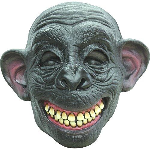 AEC - MAHAL639 - Masque chimpanze en latex adulte
