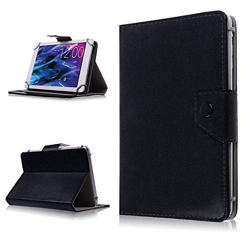 na-commerce Tablet Hülle für Medion Lifetab P8514 P8314 P8312 S8312 Tasche Schutzhülle Hülle, Farben:Schwarz