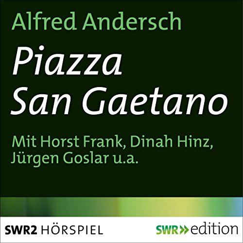Piazza San Gaetano audiobook cover art