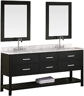 Best espresso bathroom vanity with top Reviews