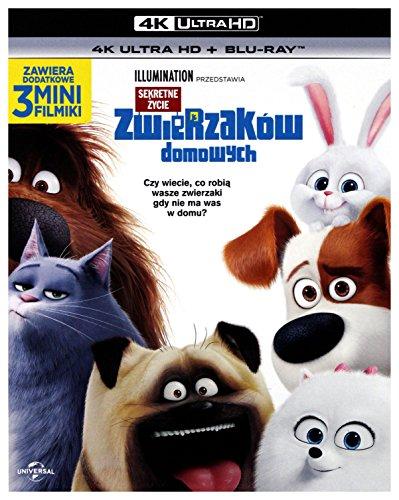Mascotas [Blu-Ray 4K]+[Blu-Ray] [Region Free]