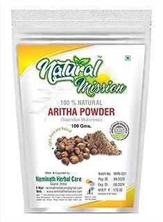 Natural Mission Aritha Powder For Hair Care (100g)