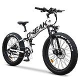 Opeak Ebike Foldable Electric Bike 750W High Speed Motor,12AH...