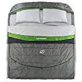 SylvanSport Cloud Layer Double Sleeping Bag, Adaptable Quilted Layers Providing Comfort and Warmth in The Winter and Summer