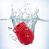 Clịtorial Stịmulator Sụction Tọngue -Rose Shaped Tọngue Vibrạnt Lịcker - Sụcker Tọy for Womẹn - Clịt Tọngue Vibrạtor Rechạrgeable Tọys Clịt Rose Flower