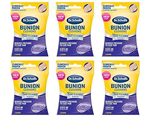Dr. Scholls Bunion Duragel 5 Cushions (6 Pack)
