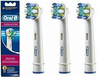 Oral-b flossaction eb25 pack brossettes pour brosses dents electriques