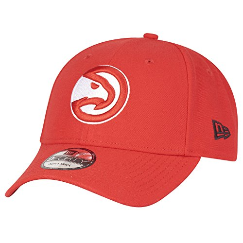 New Era Atlanta Hawks 9forty Adjustable Cap - NBA The League - Red - One-Size